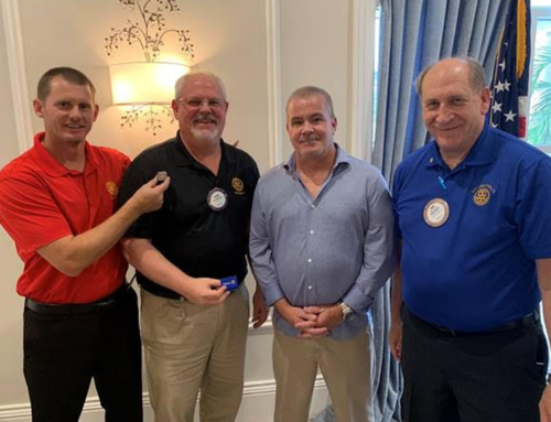 Daniel Herbert Inducted Into Wellington, FL Rotary